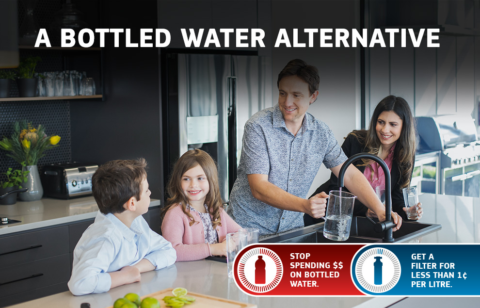 Bottled Water Alternative - Pay less than 1c per litre